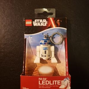 BOGO Lego state wars R2-D2 ledlite Keychain